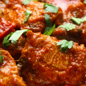 Chicken Jalfrezi (Hot)