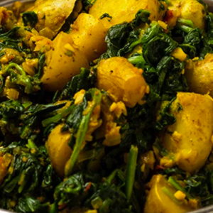 Saag Aloo (Medium)